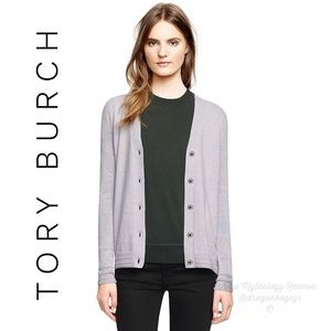 Tory Burch Madison Merino Wool Blend Cardigan